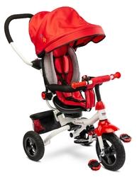 Toyz wroom red rowerek trzykołowy z obracanym siedziskiem + prezent 3d