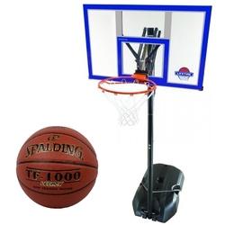 Zestaw kosz do koszykówki lifetime new york nba 90000 + piłka spalding tf-1000 legacy