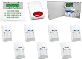 Zestaw alarmowy satel ca-10 lcd, 7 czujek, sygnalizator zewnętrzny - szybka dostawa lub możliwość odbioru w 39 miastach
