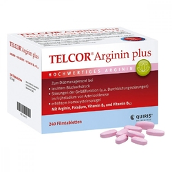 Telcor arginin plus tabletki powlekane