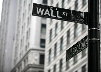 Wall street - fototapeta