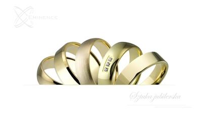 Obrączki złote - classic