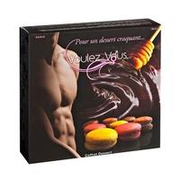 Sexshop - smakowity zestaw olejków i pyłków do ciała voulez-vous... - gift box desserts - online