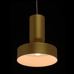 Pojedyncza, złota lampa wisząca 25 cm mw-light megapolis 715010301