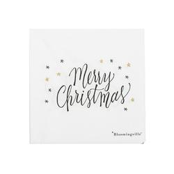 Serwetki papierowe merry christmas bloomingville