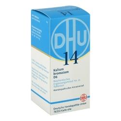 Biochemie dhu 14 bromek potasu d6 tabletki