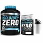 Biotech usa iso whey zero - 2270g + 500g + shaker