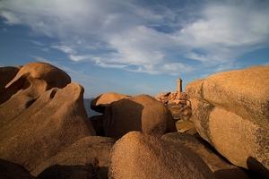 Fototapeta na ścianę latarnia wśród skał fp 3603