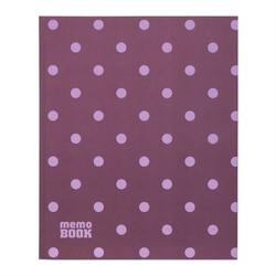 Notes memo book 19,5x23,8 cm - romantyczne kropki - 02