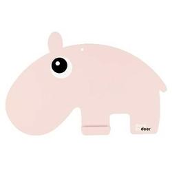 Tablica kredowa - różowy hipopotam
