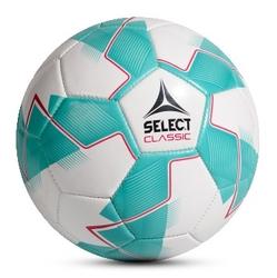 Piłka nożna select classic 3 biało-zielona