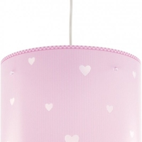 Lampa sufitowa sweet dreams pink serduszka dalber