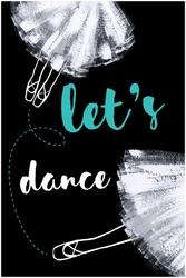 Taniec - plakat wymiar do wyboru: 30x40 cm