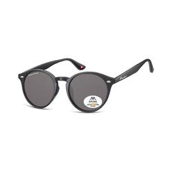 Okragle czarne okulary polaryzacyjne montana mp20