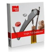 Korkociąg dla kelnera single pull corkscrew vacu vin czarny vv-68854606