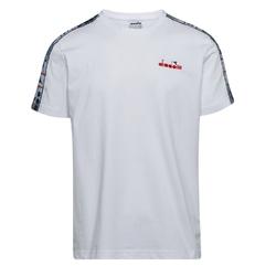 Koszulka męska diadora t-shirt ss 5palle offside - biały