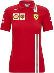 Koszulka polo damska scuderia ferrari f1 2020