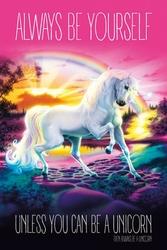 Unicorn Always Be Yourself - plakat