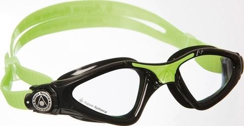 Aquasphere okulary kayenne junior jasne szkła, black-lime