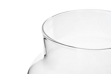 Wazon szklany średnica 17 cm wysokość 19 cm