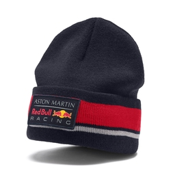 Czapka zimowa aston martin red bull racing 2019