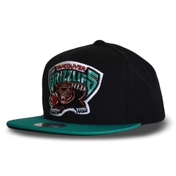 Czapka mitchell  ness nba vancouver grizzlies wool solid snapback