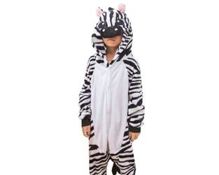 Kigurumi onesie dla dzieci piżama zebra