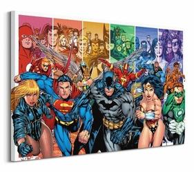 Justice League America Generations - obraz na płótnie