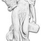 Figura ogrodowa betonowa kobieta z koszami 140cm