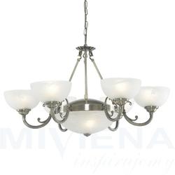 Windsor lampa wisząca 8 patyna szkło