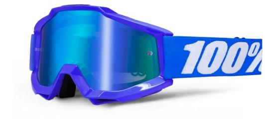 Gogle 100 accuri reflex blue +szybka