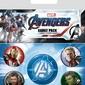 Avengers: Endgame Quantum Realm Suits - przypinki