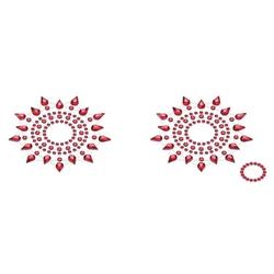 Biżuteria na piersi - petits joujoux gloria czerwona