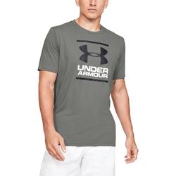 Koszulka męska under armour gl foundation ss t - szary