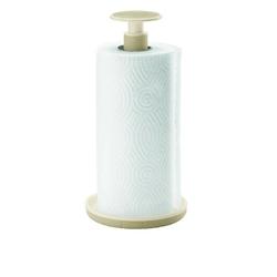 Guzzini - tidy  store - stojak na ręczniki push  block, beżowy - brązowy