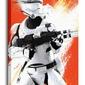 Star Wars Episode VII Flametrooper Paint - obraz na płótnie