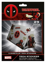 Deadpool Merc With A Mouth - naklejki na laptopa