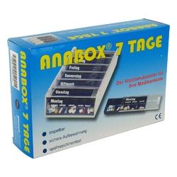 Anabox 7 tage wochendosierer blau