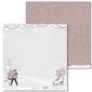 Papier świąteczny shabby winter 30,5x30,5 cm - 04 - 04