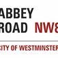 Abbey Road Sign - plakat