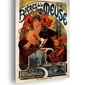 Biéres de la meuse - alfons mucha - obraz na płótnie wymiar do wyboru: 30x40 cm