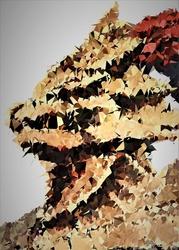 Polyamory - ornstein, dark souls - plakat wymiar do wyboru: 70x100 cm