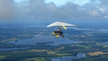Lot motolotnią z wideofilmowaniem - pińczów - 10 minut