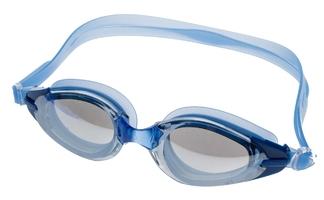 Okulary do pływania vivo b-0110 niebieskie lustrzane