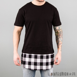Koszulka uc- xlong flanell bottom white