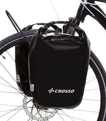 Sakwy rowerowe crosso dry small 30l - czarne