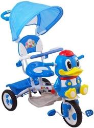 Rower trójkołowy ur-et-a27 kaczorek niebieski