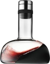 Karafka napowietrzająca do wina menu srebrny korek