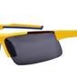 Zolte okulary sportowe przeciwsloneczne speed 784a
