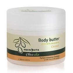 Macrovita masło do ciała olivelia coconut 200ml bio - kokos